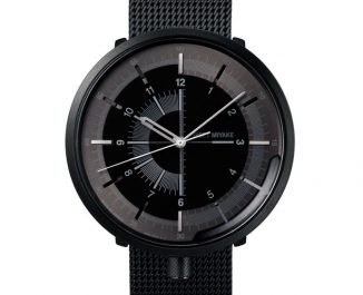 """Issey Miyake 1/6 Watch Delivers an Expression of The """"Passage of Time"""""""