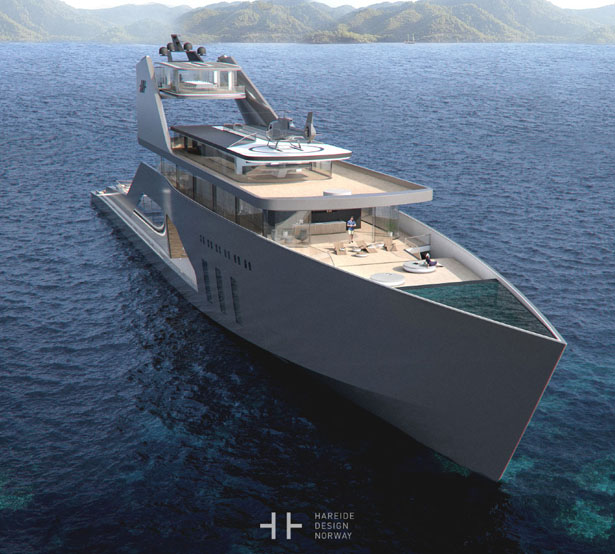 108M Mega Yacht by Hareide Design