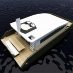 12M Houseboat Features Excellent Living Environment on the Sea