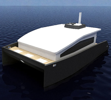 12m houseboat