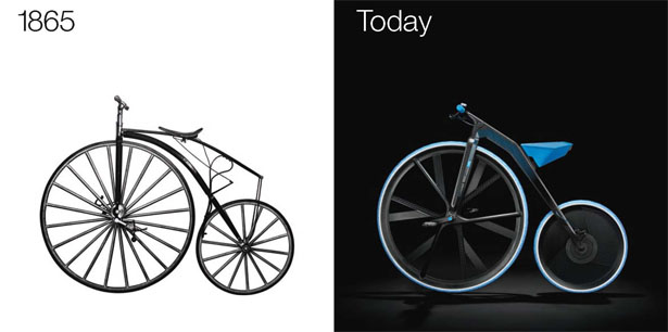 1865 Electric Velocipede by Ding3000 and BASF