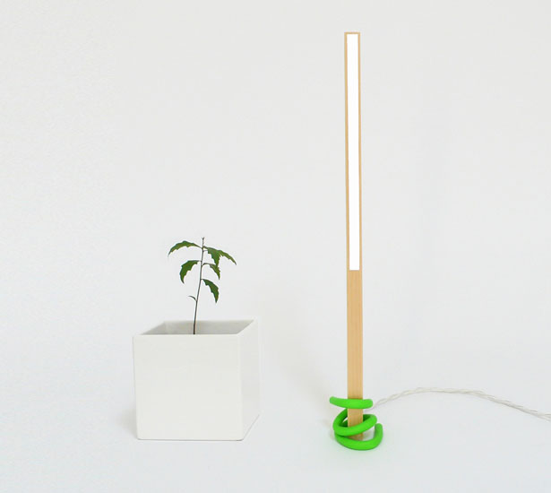 1x1 Desk Lamp by Victor Vetterlein