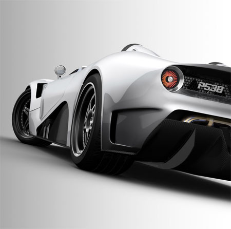futuristic car scuderia bizzarrini p538 barchetta concept