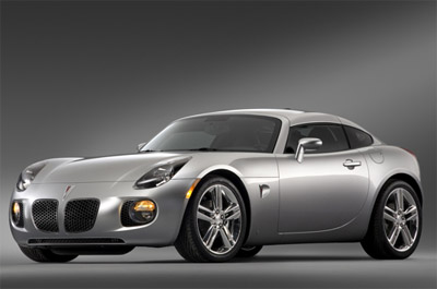 Pontiac Solstice Coupe for 2009
