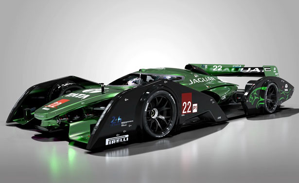 2020 Jaguar XJR-19 LMP1 Concept Race Car by Mark Hostler