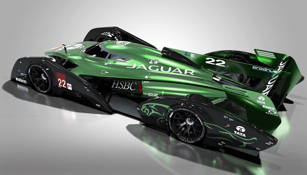 Jaguar xjr 19 lmp1 concept race car for the year of 2020 for Karting interieur