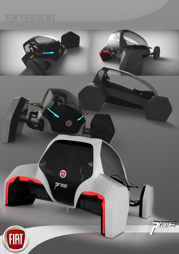 2025 Fiat Prime City Car by Joshua Shercliff