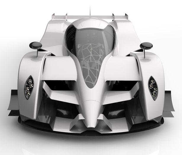 2030 Pagani Ganador - Le Mans Race Concept Car by Igor Dzukovski