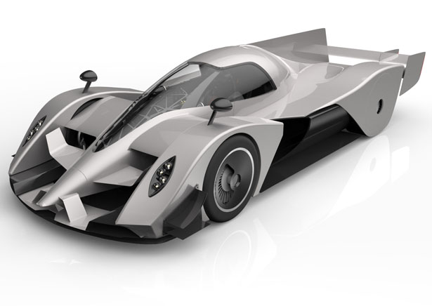 2030 pagani ganador le mans race concept car by igor dzukovski - Sports Cars 2030