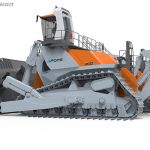 210 Ton Electric Bulldozer Concept by Jon Pope