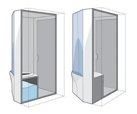 2P Portable Multi User Restrooms