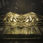 3D Printed Dichroic Light Diffuser Creates Cool, Surreal Reflections
