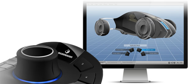 3Dconnexion SpaceMouse Pro 3D Navigation for Professionals