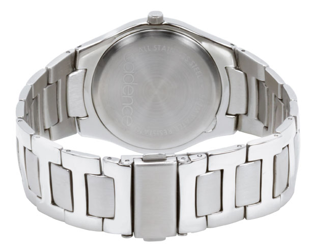 4-bit Chronograph Steel Watch from Cadence