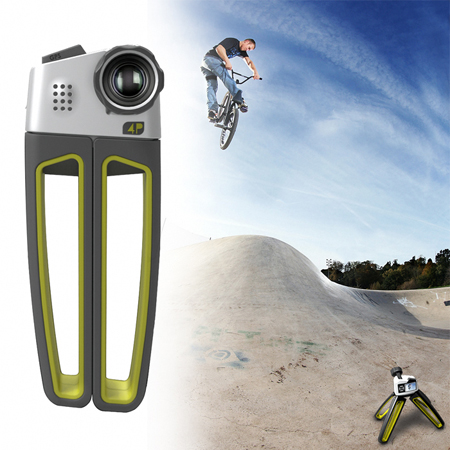 4p action camera
