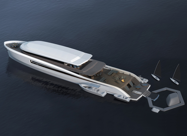 55m X-Easy Yacht by Pastrovich Studio