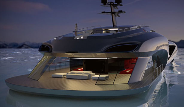 70m Xhibitionist Event Super Yacht by Nedship Group