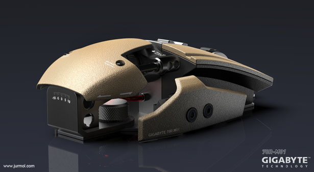 70R-M01 Gaming Mouse by Jurmol Yao