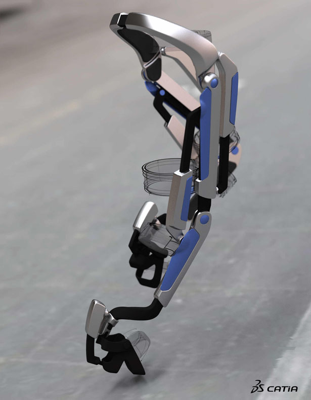 7Miles Robotic Ortheses That Also Works As City Personal Commuting Device