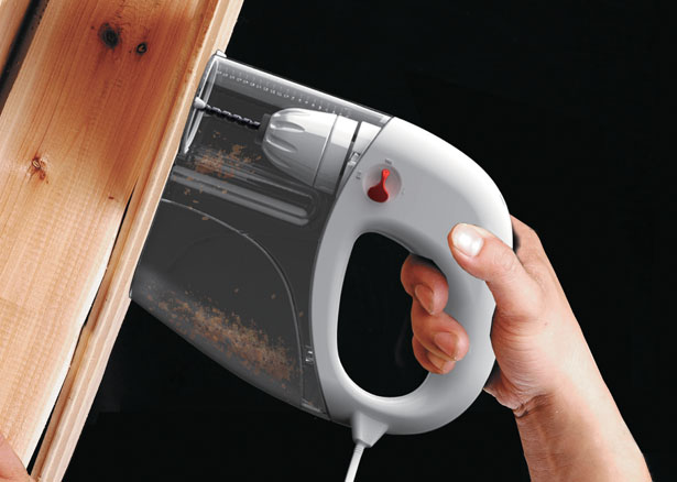 90 Degree Drill Concept for Non-Professional Workers