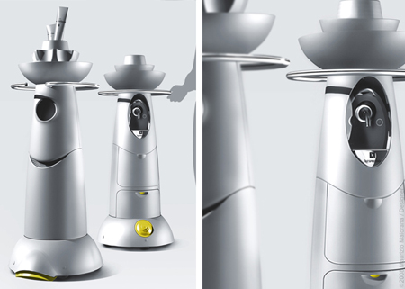 CICLOPE hair stylist robot
