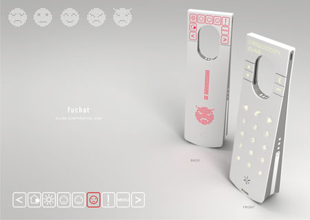 fu chat concept phone