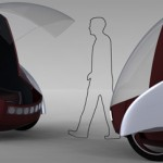 Honda Rogue: Sleek, Attractive, Segway Based Vehicle That Reveals The Future Urban Design Ideas