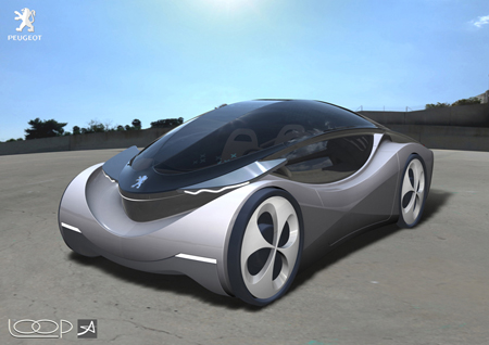 LOOP Car Concept with Classy Design