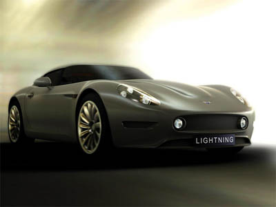 Lighting GT : First UK's Electric Sportscar for 2008