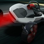 Mercedes Arrow Is A Lightweight Two-Seater Vehicle Gives You The Feeling Of Sliding With A Bobsleigh