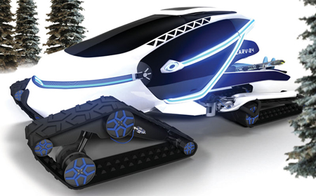Snowmobile Design Tuvie