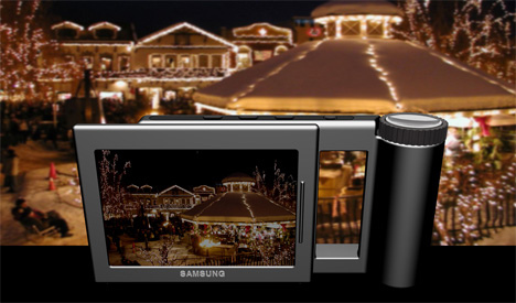 Future Samsung SS700 Digital Camera Concept