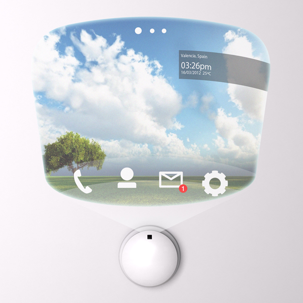 A' Design Award and Competition - Pip! Parallel Interactive Projector by Jorge Prieto
