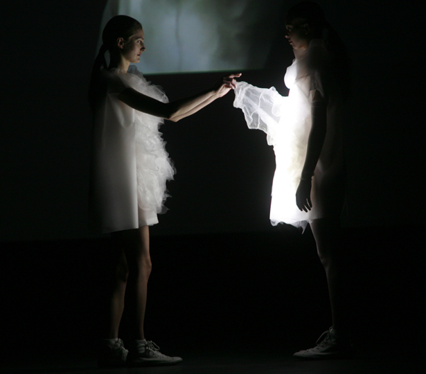 A Design Award 2012-2013 winners - Playtime Fashion; Interactive Clothing by Ying Gao