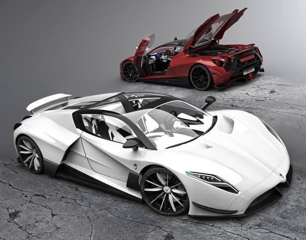 A' Design Award and Competition - Shayton Equilibrium Hypercar by Andrej Stanta