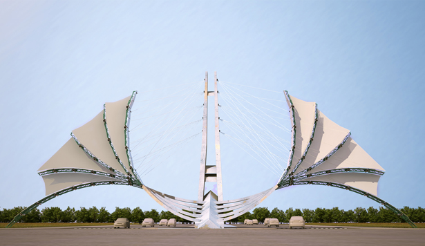 A' Design Award and Competition - Simorgh Gate Way by Naser Nasiri