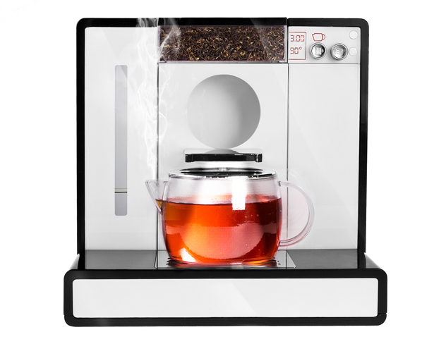 A' Design Award and Competition - Tesera Fully Automatic Tea MacHine by Tobias Gehring