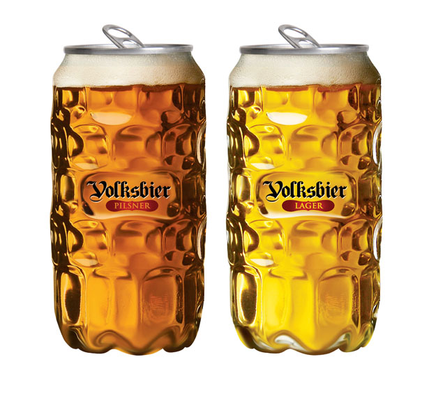 A' Design Awards & Competition – Winners 2015 - Volksbier PET container by Cristian Stancu and Viorel Rusu