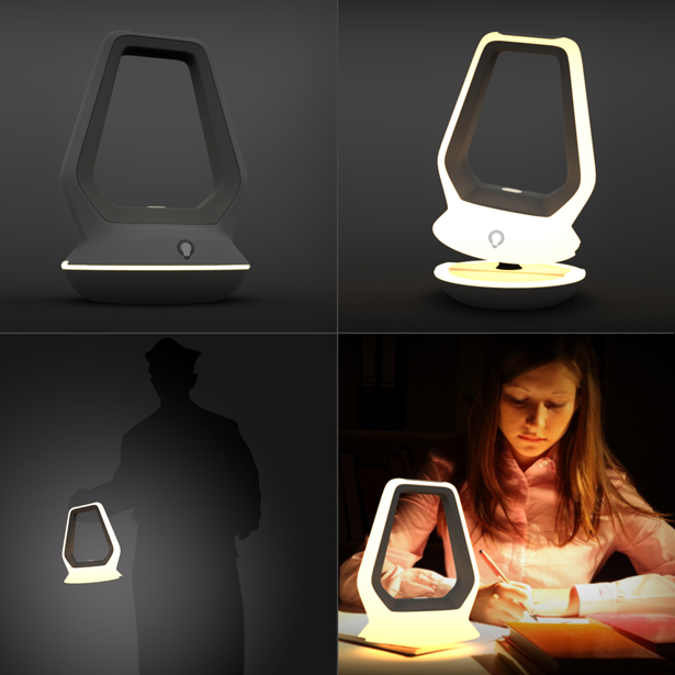 A'Design Award and Competition 2015-2016 Winner - OLED Portable Lamp by Muzaffer Koçer