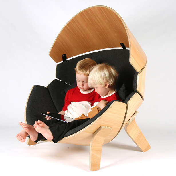 A'Design Award and Competition 2015-2016 Winner - Hideaway Chair Children's Chair by Think & Shift