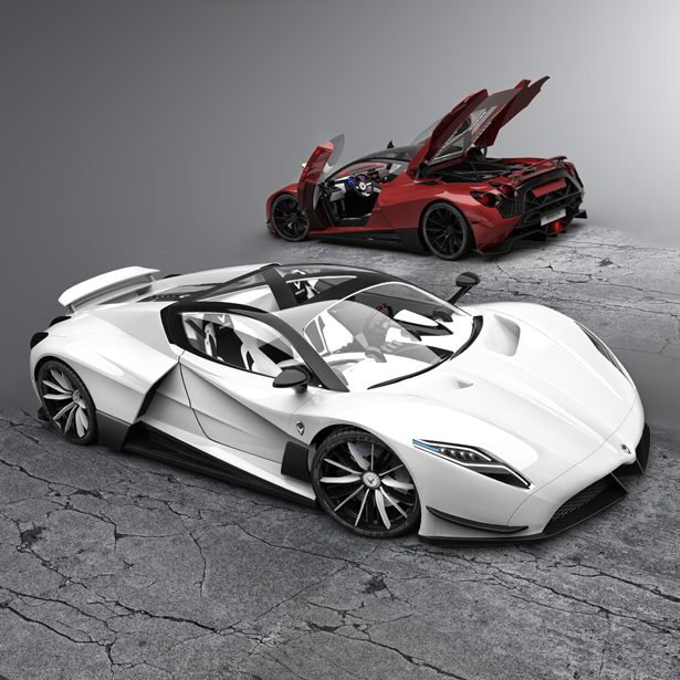 A' Design Awards & Competition 2019-2020 Calls for Submissions - Shayton Equilibrium Hypercar by Andrej Stanta
