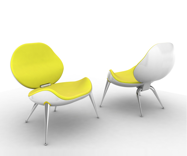 Floger Lounge Chair by Hakan Gursu of DesignNobis