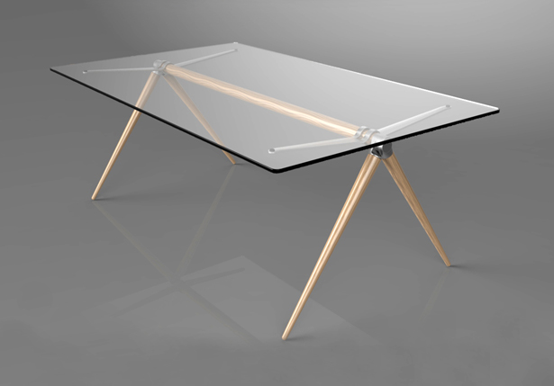 Loft Table by Hakan Gürsu of DesignNobis