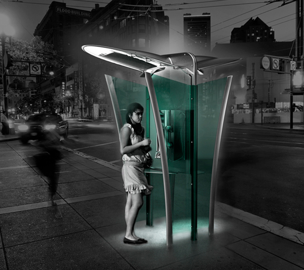 Phone Box Public Phone by Hakan Gursu of DesignNobis