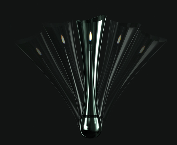 Tumbler Lamp by Hakan Gursu of DesignNobis