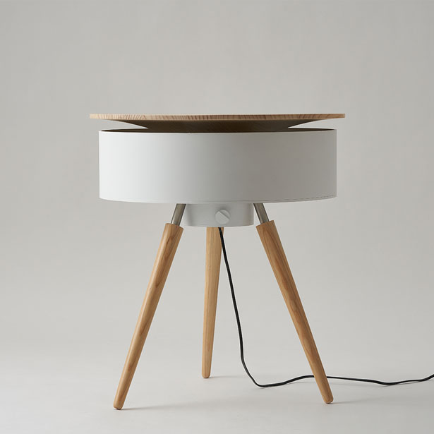 Brise Table Furniture Plus Fan by Wonho Lee - A' Design Award Design and Competition 2020 Winner