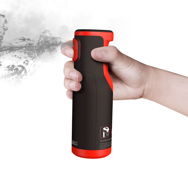 Vehicle Safety Equipment Fire Extinguisher and Escape Hammer by Tongxin Zhang - A' Design Award Design and Competition 2020 Winner