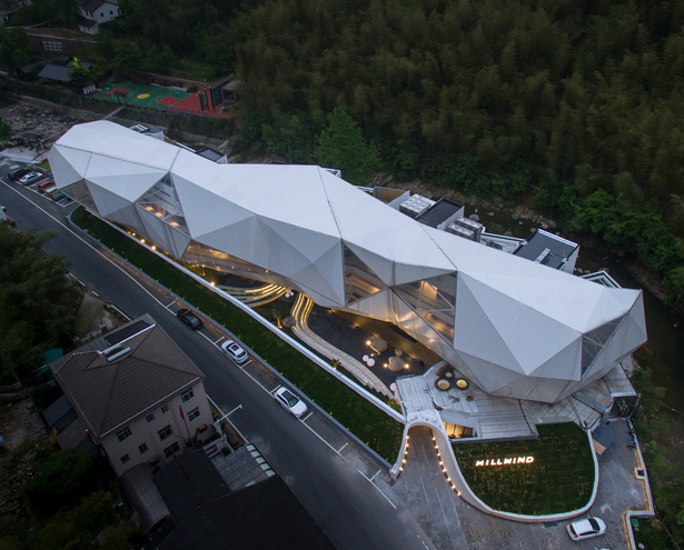 Hill Wind Hotel and Resort by Huafang Wang - A' Design Award Design and Competition 2020 Winner