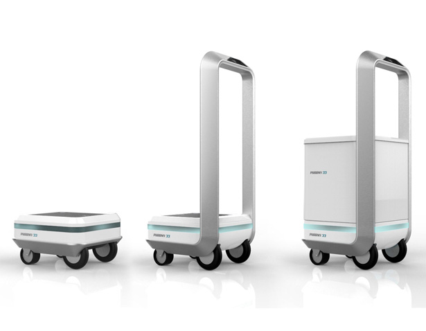 Pharmy Autonomous Mobile Robot by Arbo Design - A' Design Award Design and Competition 2020 Winner