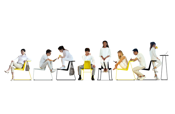 Plover Multi Purpose Chair by Eric Tong and a Group of THEi Students - A' Design Award Design and Competition 2020 Winner